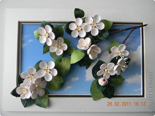 Поздравляю всех жителей Страны Мастеров с наступающей Весной. И какая весна без буйного цветения яблонь..... фото 1