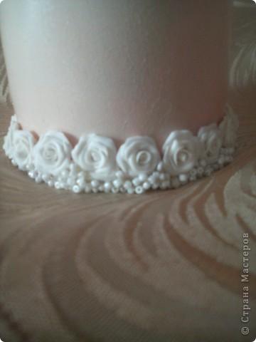 Розы сделаны из пластики Sonnet фото 2