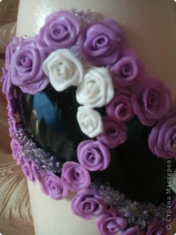 Розы сделаны из пластики Sonnet фото 3