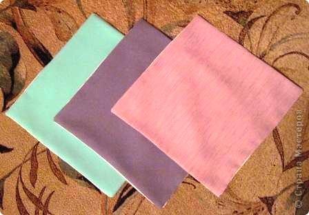 Такой оригами-кубик из ткани у меня сегодня получился! фото 2