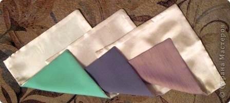 Такой оригами-кубик из ткани у меня сегодня получился! фото 4