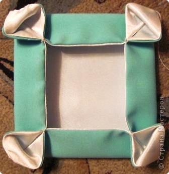 Такой оригами-кубик из ткани у меня сегодня получился! фото 7