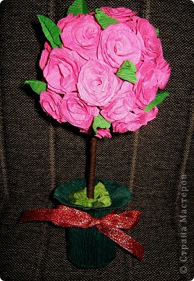Маленькое розовое дерево фото 1