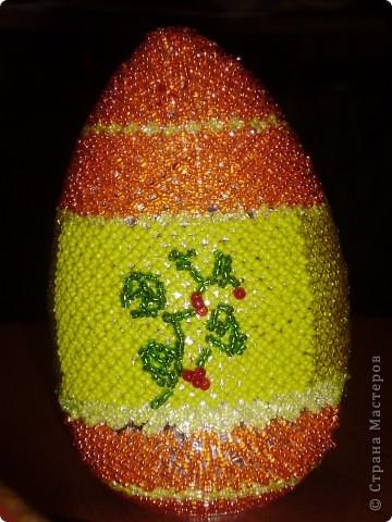 Это яйцо прекрасный подарок на Пасху.Конечно придется посидеть, но результат того стоит.