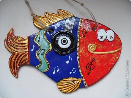 Большое спасибо Надежде Керн за идею,очень выручила(рыба для учителя по музыке)!Спасибо,рыба получилась СУПЕРРРР!!!! фото 2
