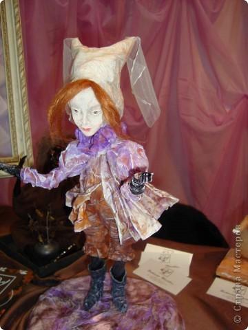 """25-27 февраля 2011 года в Киеве прошла III Международная выставка-ярмарка """"Золотые руки мастеров"""" и I Международный салон """"Модная кукла"""". Предлагаю Вам посмотреть некоторые работы, представленные на выставке.  фото 41"""