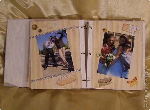 Еще перед свадьбой зародилась идея как-нибудь необычно оформить наш свадебный альбом! Извините за пространный материал, но в итоге родилось вот что...  фото 10