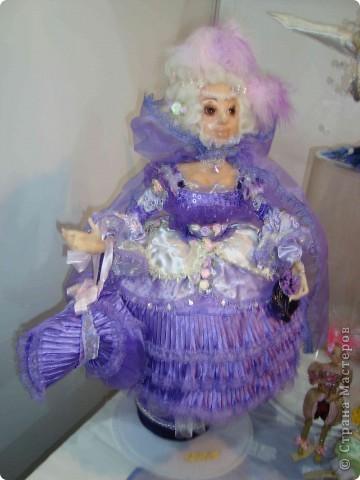 """25-27 февраля 2011 года в Киеве прошла III Международная выставка-ярмарка """"Золотые руки мастеров"""" и I Международный салон """"Модная кукла"""". Предлагаю Вам посмотреть некоторые работы, представленные на выставке.  фото 43"""