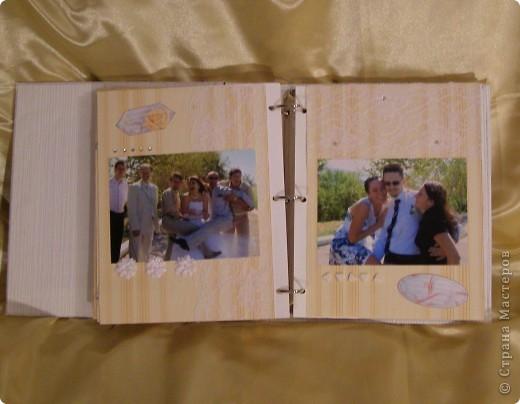 Еще перед свадьбой зародилась идея как-нибудь необычно оформить наш свадебный альбом! Извините за пространный материал, но в итоге родилось вот что...  фото 11