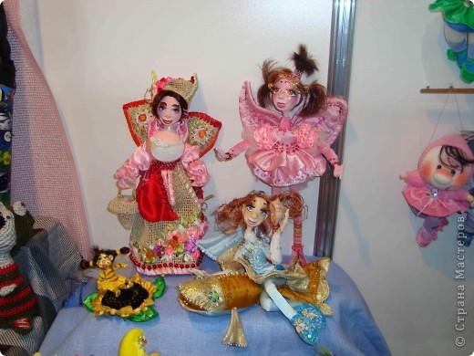 """25-27 февраля 2011 года в Киеве прошла III Международная выставка-ярмарка """"Золотые руки мастеров"""" и I Международный салон """"Модная кукла"""". Предлагаю Вам посмотреть некоторые работы, представленные на выставке.  фото 47"""