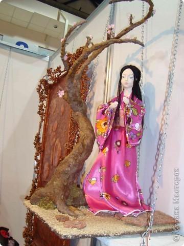 """25-27 февраля 2011 года в Киеве прошла III Международная выставка-ярмарка """"Золотые руки мастеров"""" и I Международный салон """"Модная кукла"""". Предлагаю Вам посмотреть некоторые работы, представленные на выставке.  фото 55"""