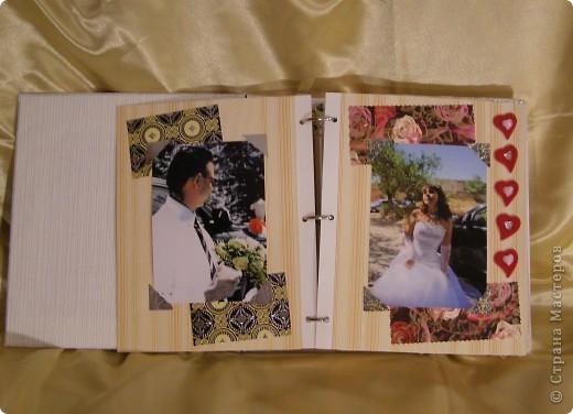 Еще перед свадьбой зародилась идея как-нибудь необычно оформить наш свадебный альбом! Извините за пространный материал, но в итоге родилось вот что...  фото 3