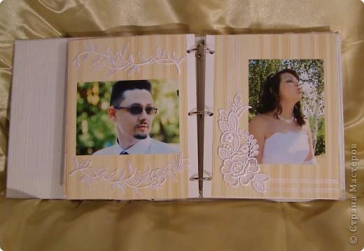 Еще перед свадьбой зародилась идея как-нибудь необычно оформить наш свадебный альбом! Извините за пространный материал, но в итоге родилось вот что...  фото 9