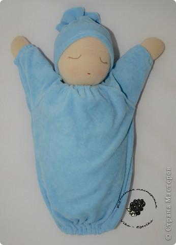 """Кукла для сна """"Спящий малыш"""" с просом"""