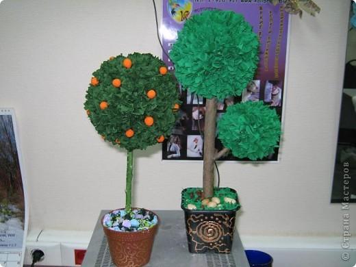 И мне тоже захотелось сделать деревце!:-))) фото 1