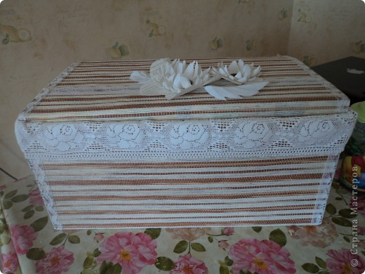 Знакомтесь! Коробка для полотенец фото 1