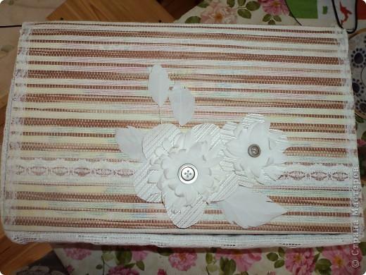 Знакомтесь! Коробка для полотенец фото 2
