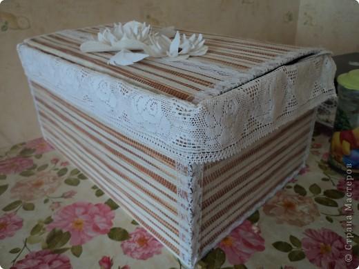 Знакомтесь! Коробка для полотенец фото 3