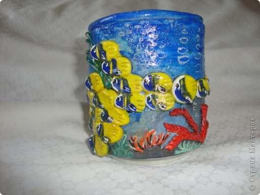Карандашница в морском стиле фото 2