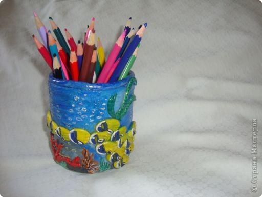 Карандашница в морском стиле фото 1