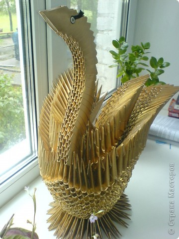 Лебедь золотой  и очень тяжелый фото 2