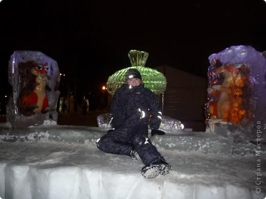 """Это мы с сестрой на """"Выставке  снега и льда"""" фото 4"""