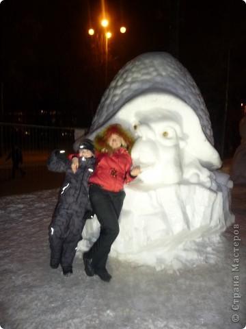 """Это мы с сестрой на """"Выставке  снега и льда"""" фото 5"""