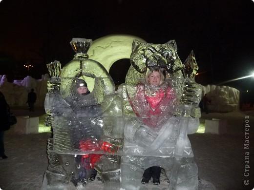 """Это мы с сестрой на """"Выставке  снега и льда"""" фото 6"""