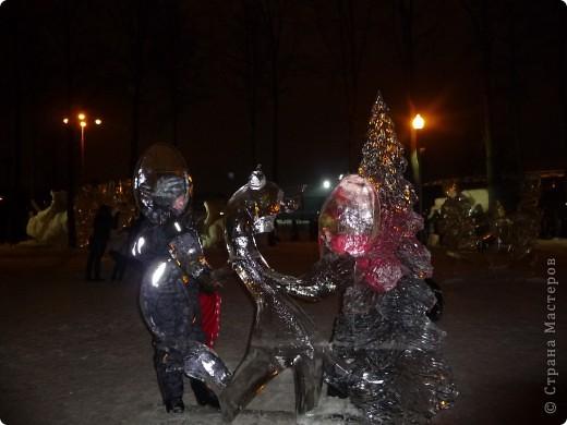 """Это мы с сестрой на """"Выставке  снега и льда"""" фото 7"""