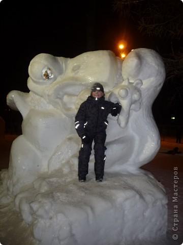 """Это мы с сестрой на """"Выставке  снега и льда"""" фото 14"""