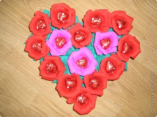 "Сердце из сердец - конфет ""Любимов"" фото 2"