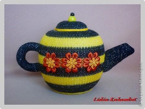 Сделать чайнички можно любые от миниатюрных до больших. Кому что нравится. фото 19