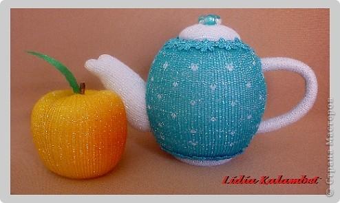 Сделать чайнички можно любые от миниатюрных до больших. Кому что нравится. фото 18