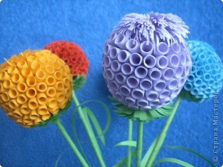 По МК Евгеши http://stranamasterov.ru/node/15019?c=favorite%C2%A0 сделали шары на городской конкурс, работы по аппликации заняли 1 место фото 2