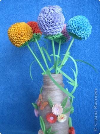 По МК Евгеши http://stranamasterov.ru/node/15019?c=favorite%C2%A0 сделали шары на городской конкурс, работы по аппликации заняли 1 место фото 1