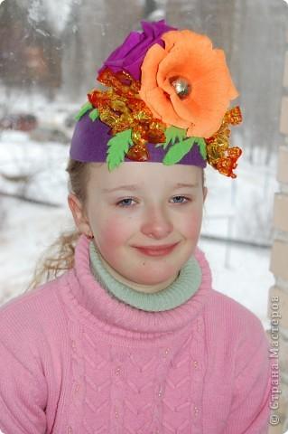 Конфетная шляпка фото 3