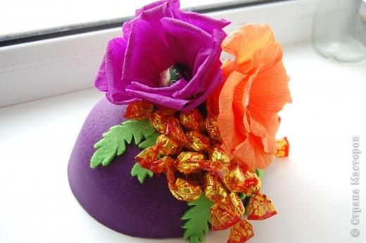 Конфетная шляпка фото 1