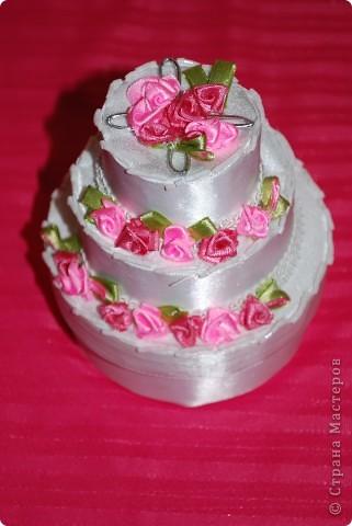 Торт-шкатулка
