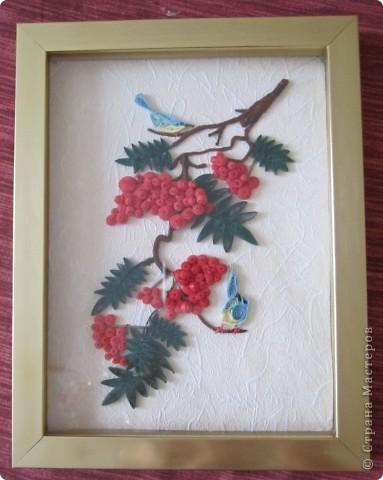 Завтра первый день весны, а у меня осень-рябинка поспела, птицы животики набивают перед зимой. фото 1