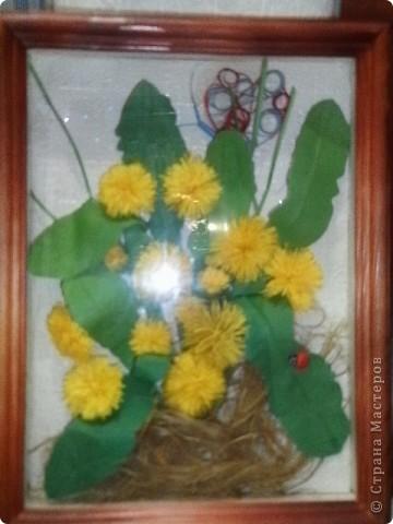 """Как хочется скорой весны, когда распустятся желтые пушистики, нежно зеленая травка. Глядя на одуванчики- думаешь """"настоящее солнышко"""". фото 2"""