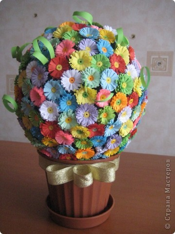 Весенний цветочный шар! фото 1