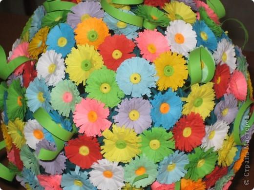Весенний цветочный шар! фото 2