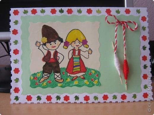 Картичката направихме с внука за детската градина фото 1