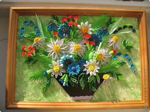 Вот и у меня теперь есть полевые цветы. Огромное спасибо всем мастерицам, кто выставляет свои работы, у вас многому можно поучиться. Отдельное спасибо Ольге Ольшак, Светлане Любимовой, Свет- Лане, Ольге Студниковой. От ваших работ я в восторге, многому у вас учусь. Вот такие цветы получились у меня. фото 2