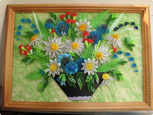 Вот и у меня теперь есть полевые цветы. Огромное спасибо всем мастерицам, кто выставляет свои работы, у вас многому можно поучиться. Отдельное спасибо Ольге Ольшак, Светлане Любимовой, Свет- Лане, Ольге Студниковой. От ваших работ я в восторге, многому у вас учусь. Вот такие цветы получились у меня. фото 1