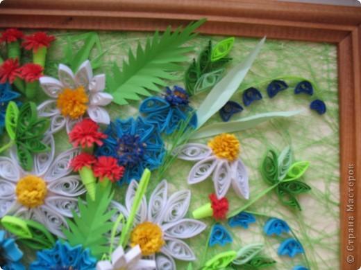 Вот и у меня теперь есть полевые цветы. Огромное спасибо всем мастерицам, кто выставляет свои работы, у вас многому можно поучиться. Отдельное спасибо Ольге Ольшак, Светлане Любимовой, Свет- Лане, Ольге Студниковой. От ваших работ я в восторге, многому у вас учусь. Вот такие цветы получились у меня. фото 3