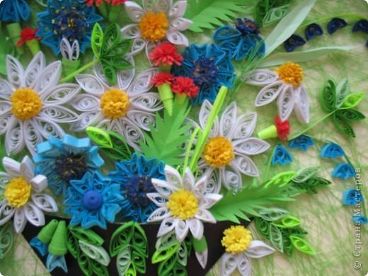 Вот и у меня теперь есть полевые цветы. Огромное спасибо всем мастерицам, кто выставляет свои работы, у вас многому можно поучиться. Отдельное спасибо Ольге Ольшак, Светлане Любимовой, Свет- Лане, Ольге Студниковой. От ваших работ я в восторге, многому у вас учусь. Вот такие цветы получились у меня. фото 4