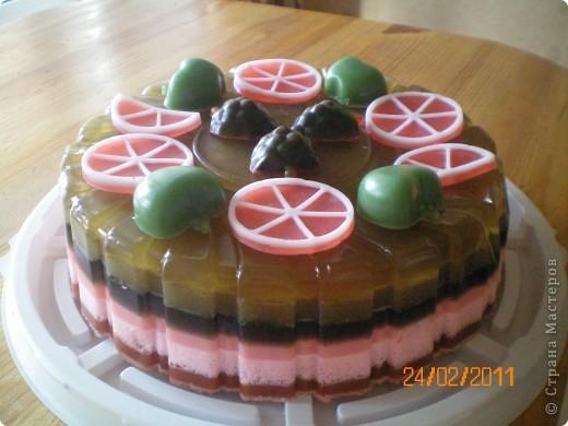 мыльный тортик