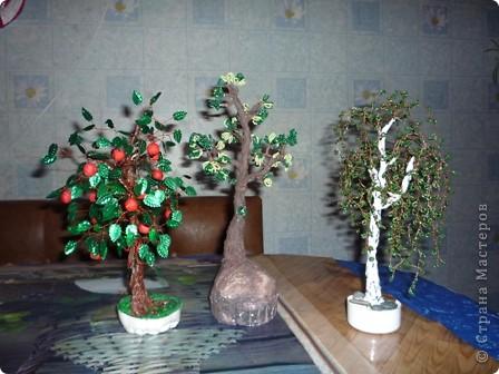 Дерево из ватных дисков. фото 3