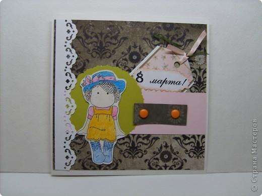 Мой первый заказ на открытки к 8 марта. В количестве 6 штук. фото 5